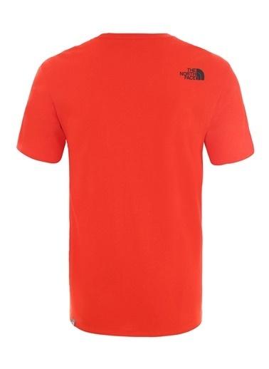 The North Face Erkek S/S Fıne Tişört - Eu Nf00Ceq515Q1 Kırmızı